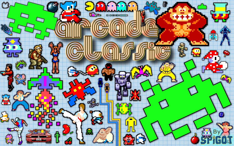 Arcade Classic Wallpaper Advertisements