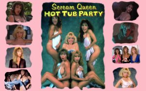 Screem Queen Hot Tub Party