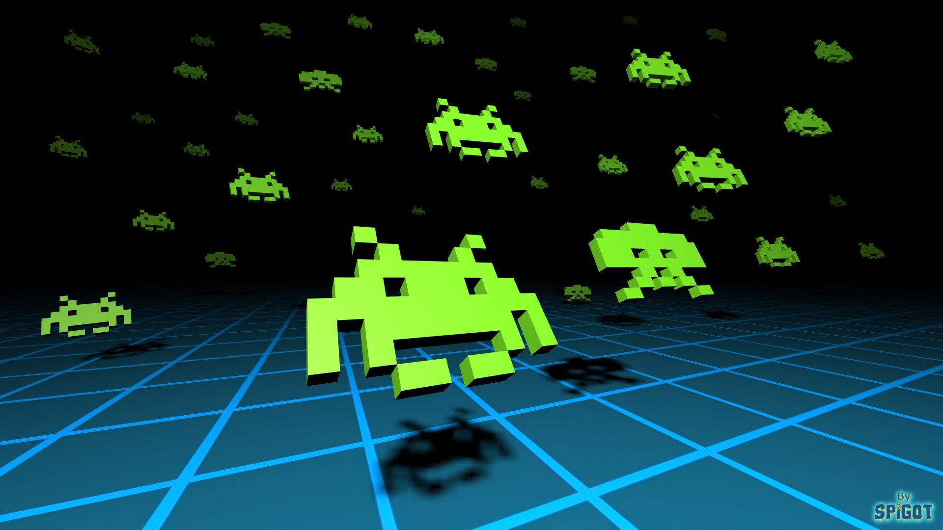 Space invaders wallpaper 178841 for Space invaders