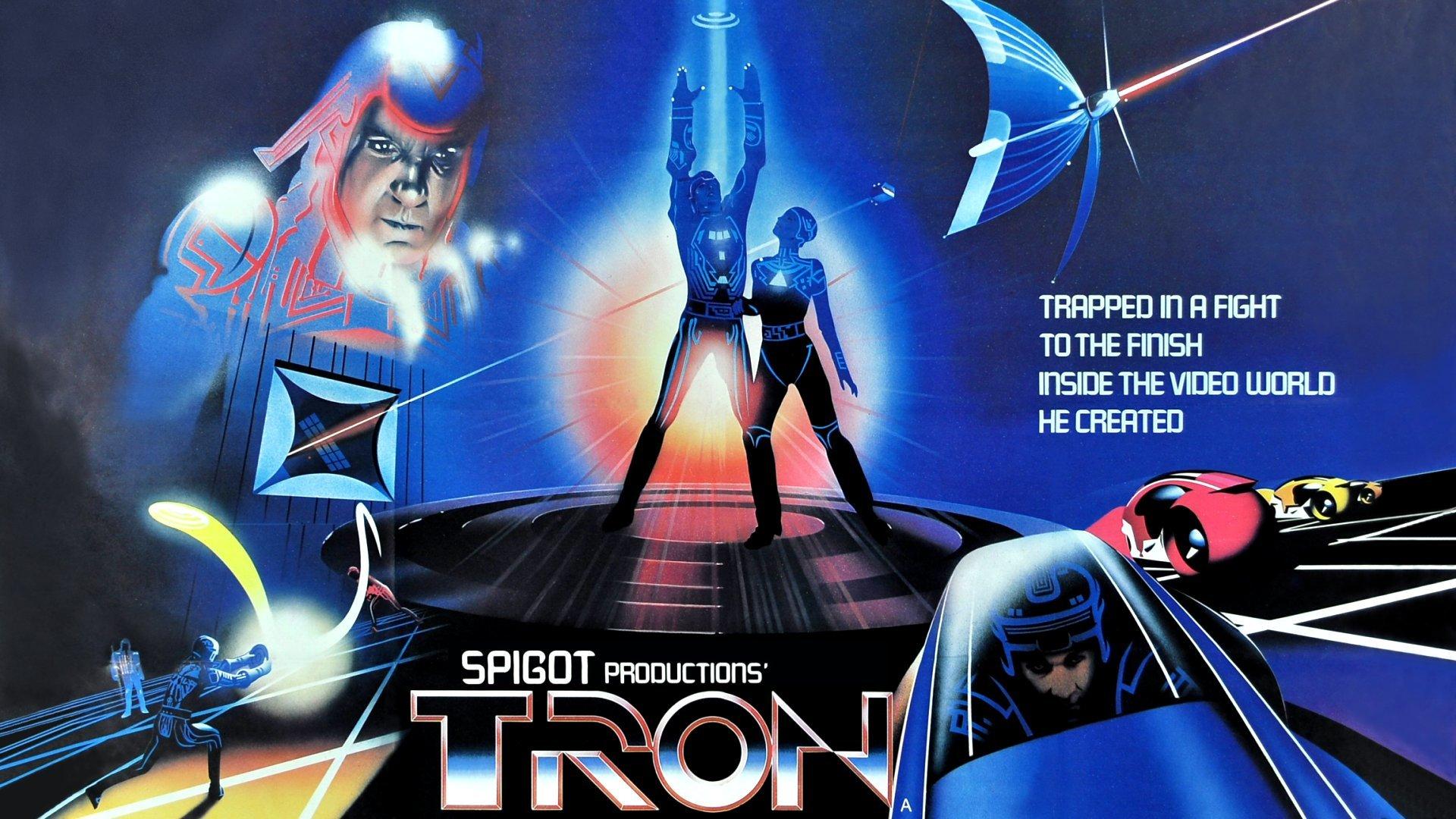 Tron Classic Move Poster Wallpaper