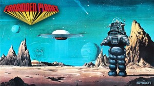 Forbidden Planet Wallpaper