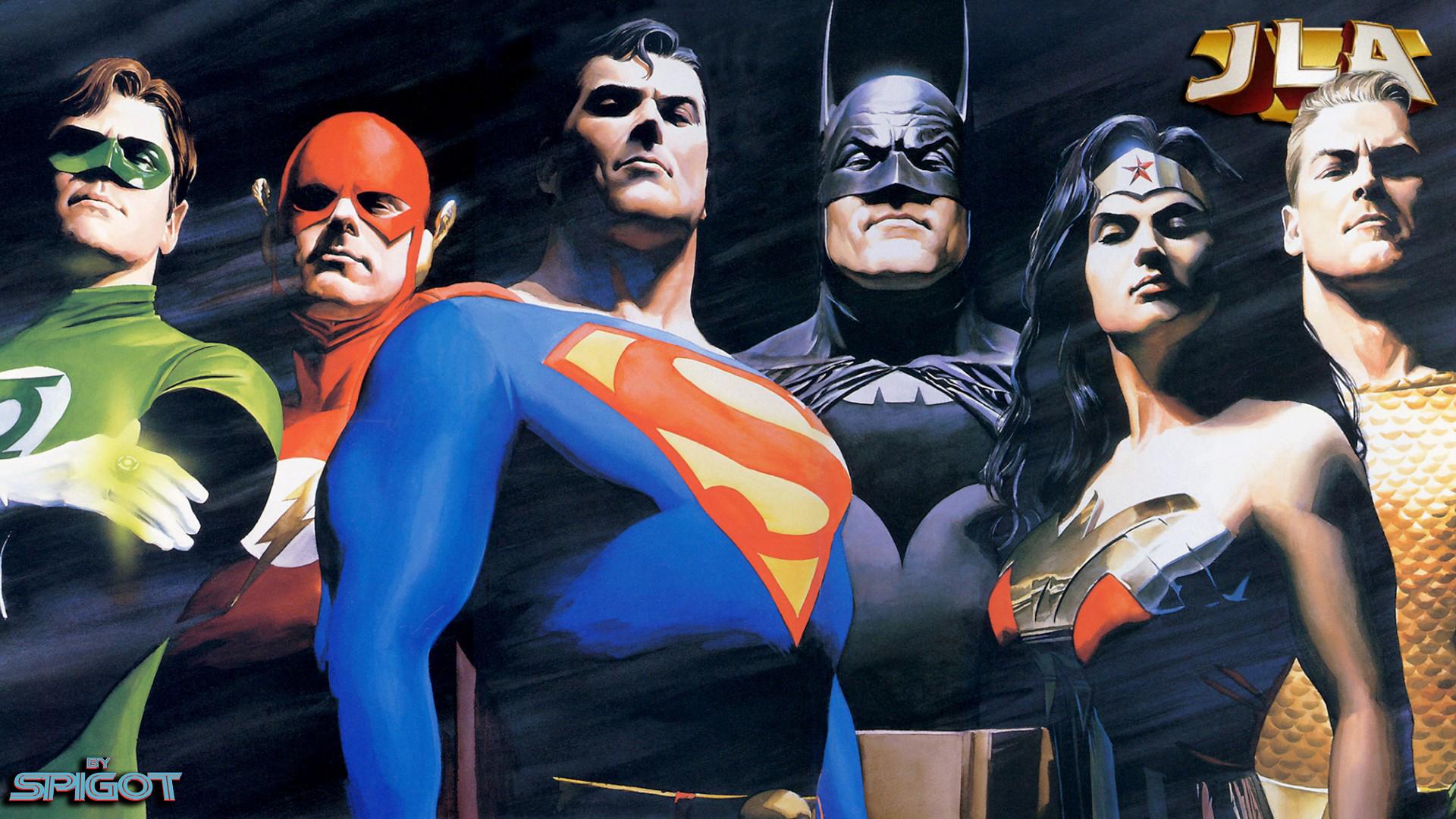Justice League Wallpaper George Spigot S Blog