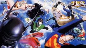 Justice League Comic Wallpaper #3