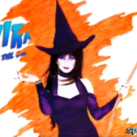 Elvira Halloween Wallpaper #31