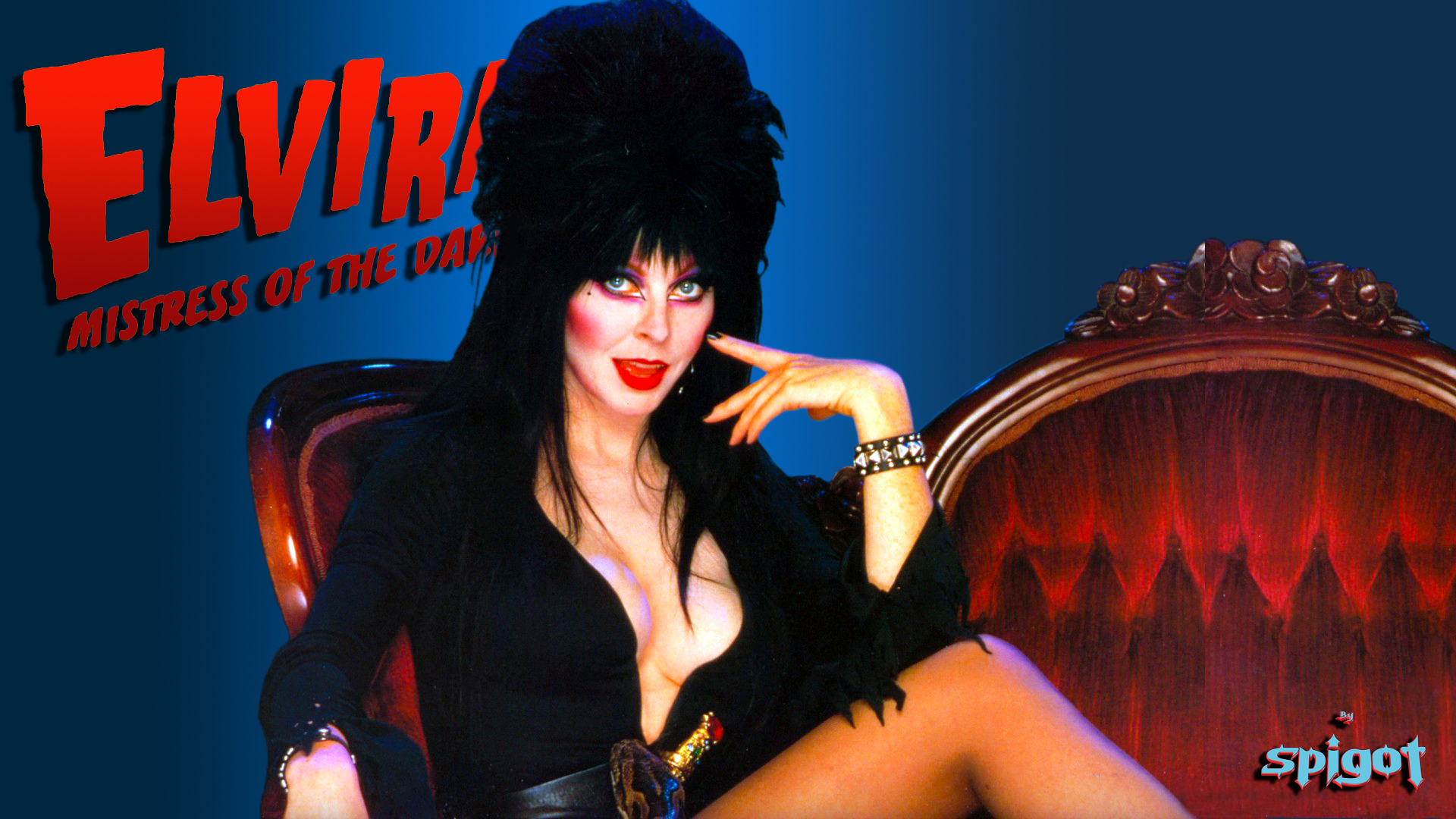 Elvira Halloween Wallpaper #12 | George Spigot's Blog
