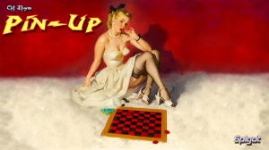 Gil Elvgren PinUp Wallpaper #2