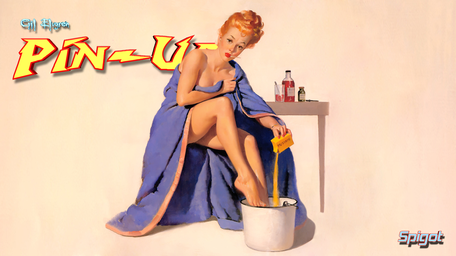 A Few More Gil Elvgren Wallpaper's | George Spigot's Blog