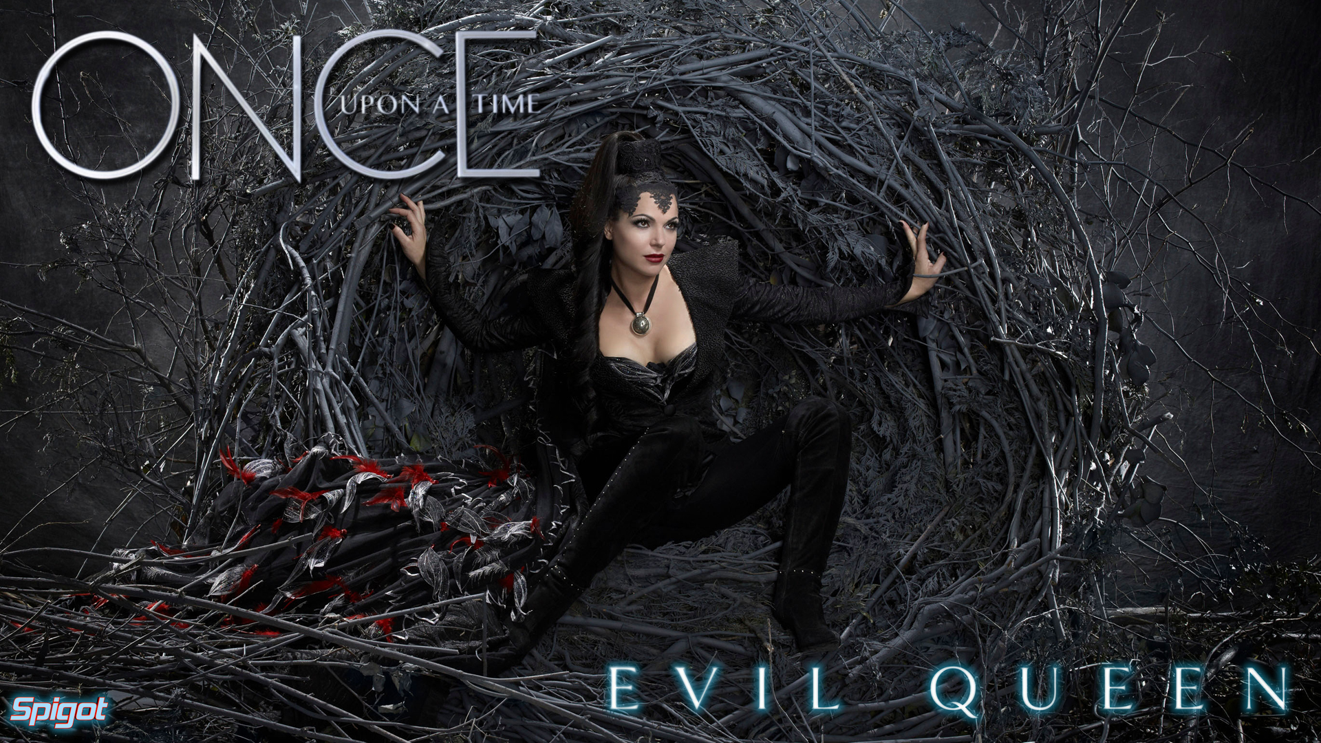 Once Upon A Time Evil Queen Wallpaper