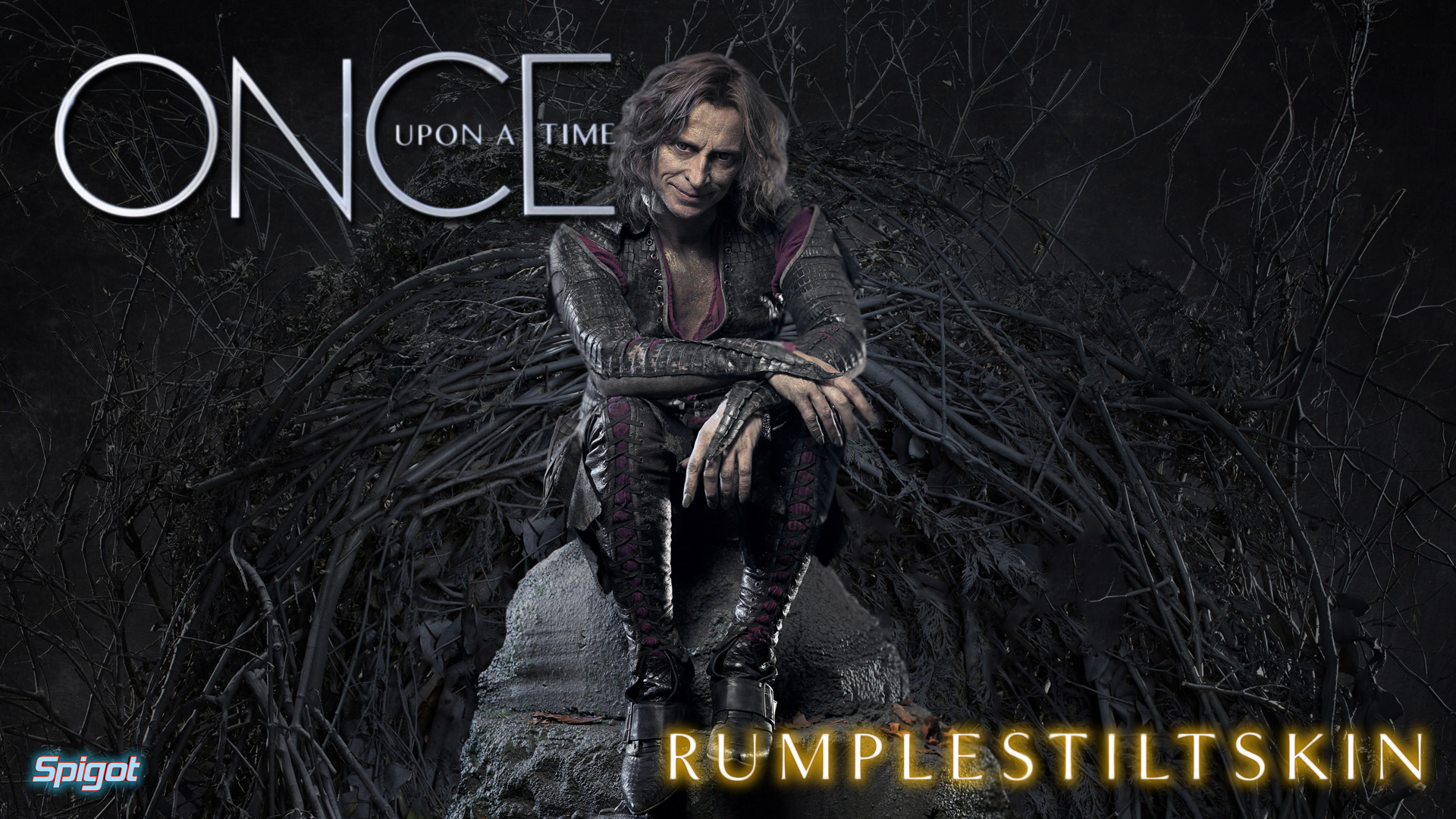 Once Upon A Time Rumpelstiltskin Wallpaper George Spigot S Blog