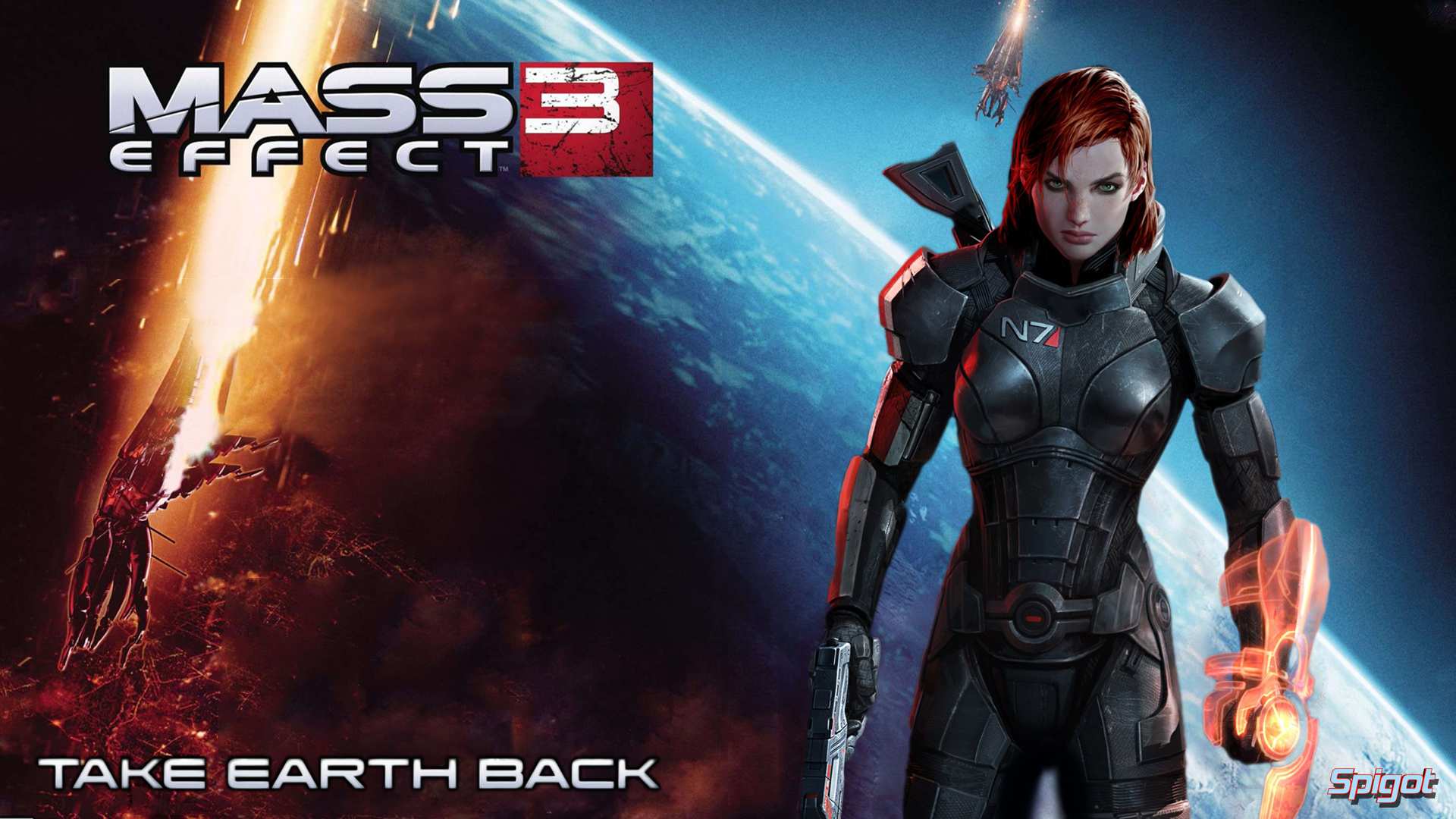 Mass Effect 3 Wallpapers George Spigot S Blog