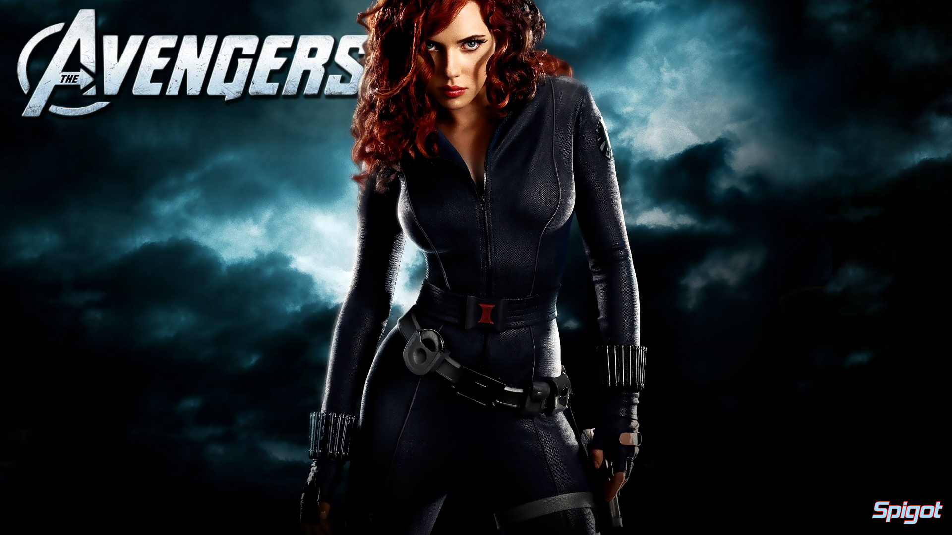 Another Avengers Wallpaper This Time Its The Freelance Agent Of SHIELD Black Widow Played By Scarlett Johansson