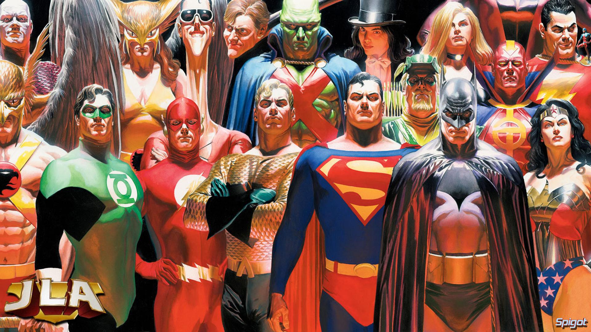 Justice League George Spigot S Blog