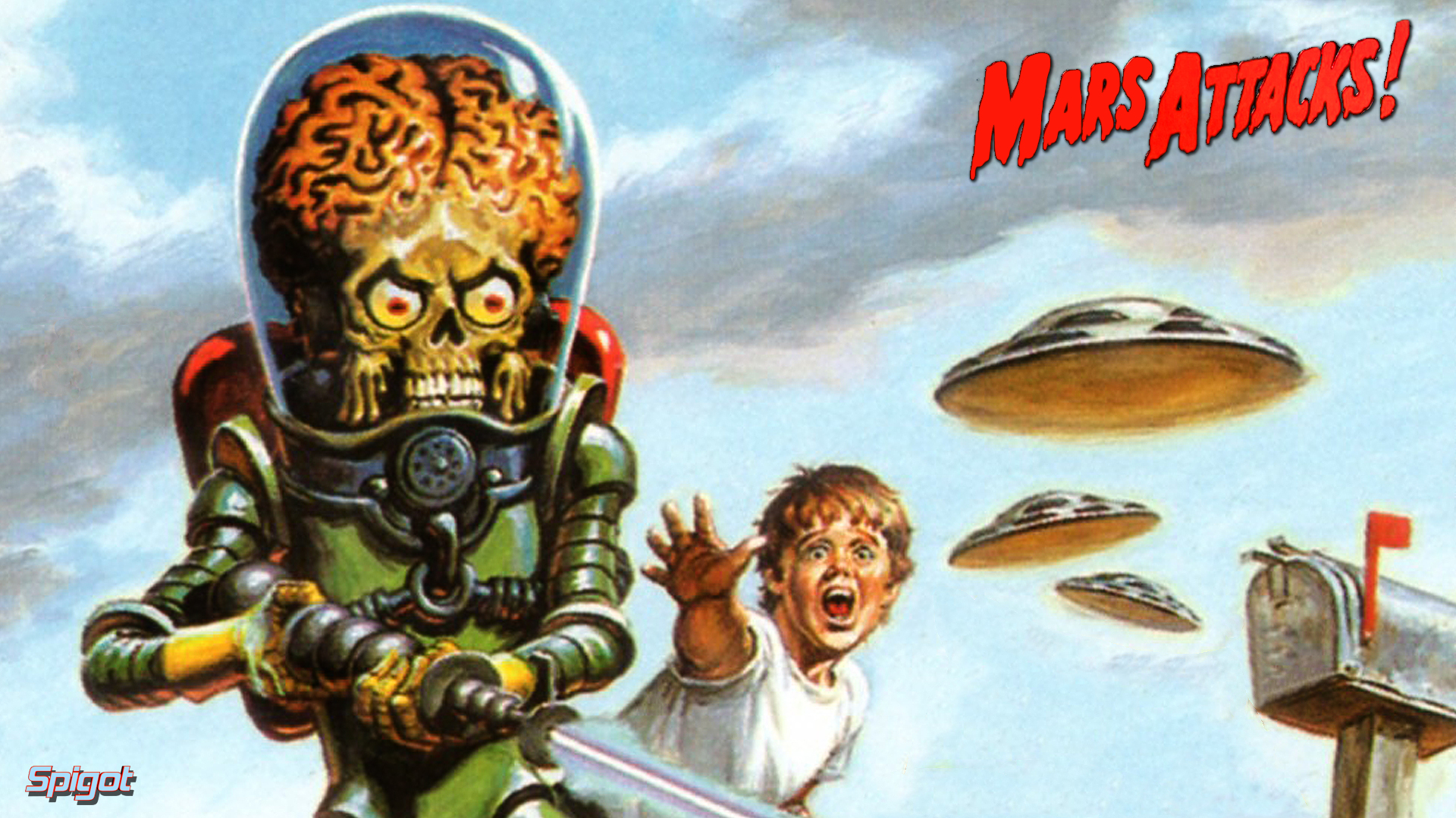Mars Attacks Wallpapers George Spigots Blog