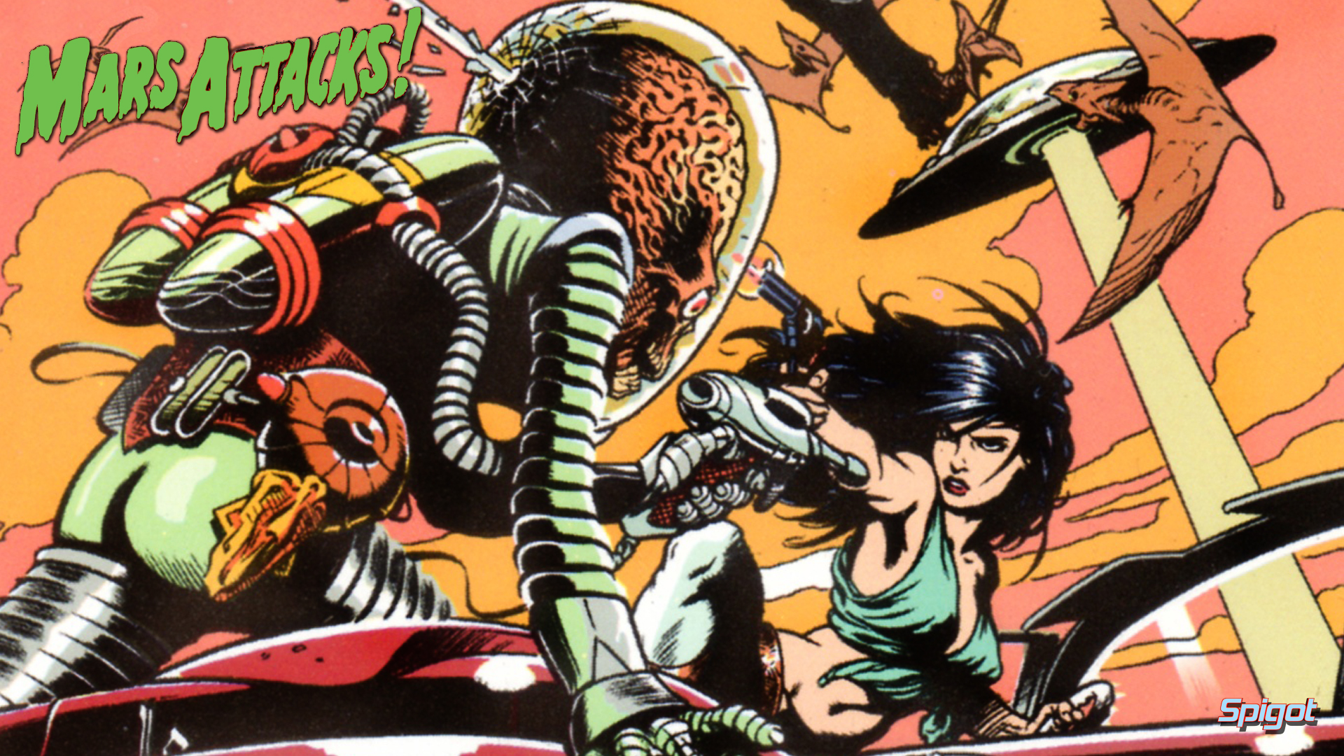 Still More Mars Attacks Wallpapers George Spigots Blog