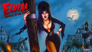 Elvira Comic Wallpaper