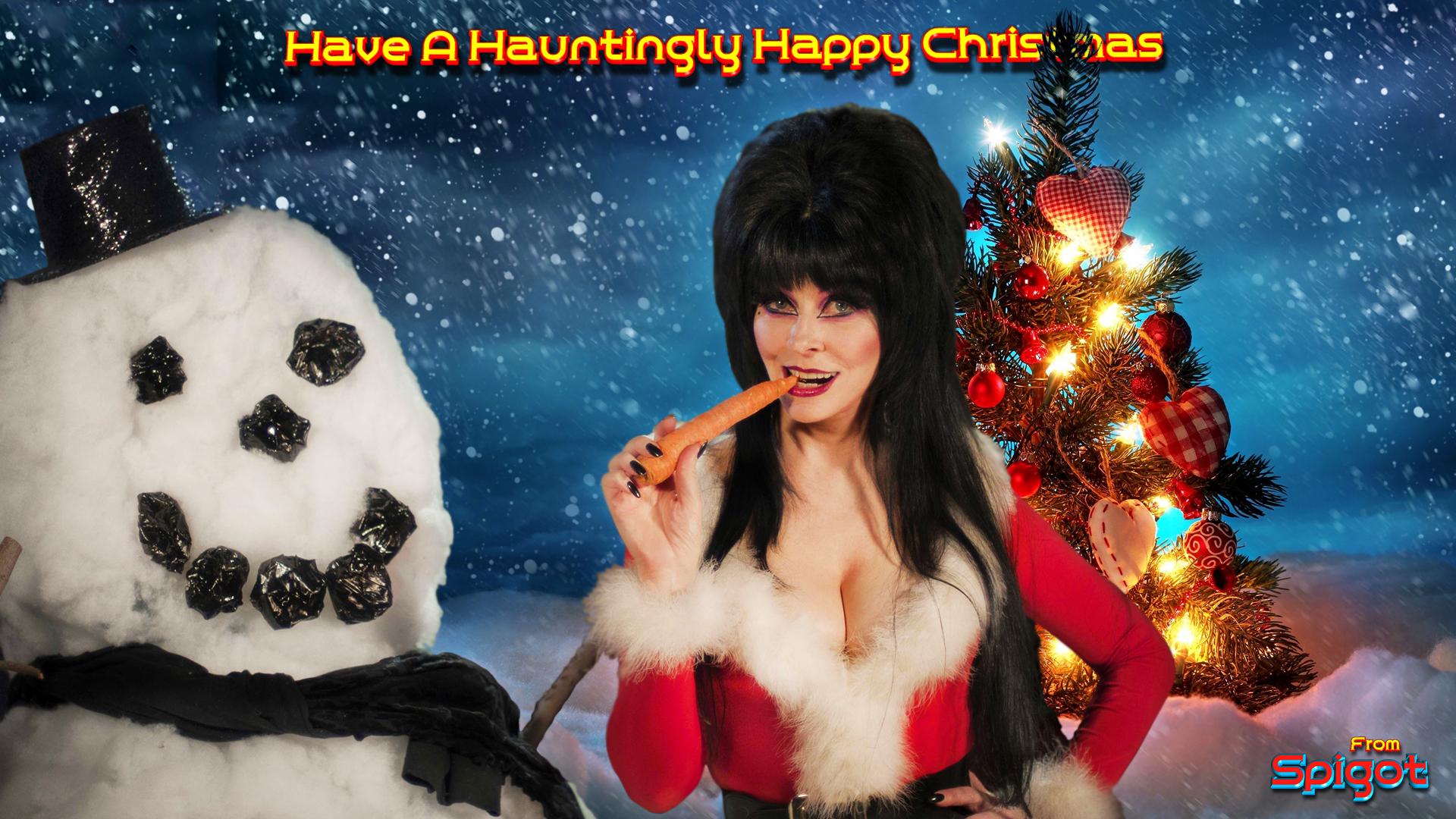 Elvira Christmas Wallpaper | George Spigot's Blog