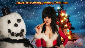 Elvira Christmas Wallpapers