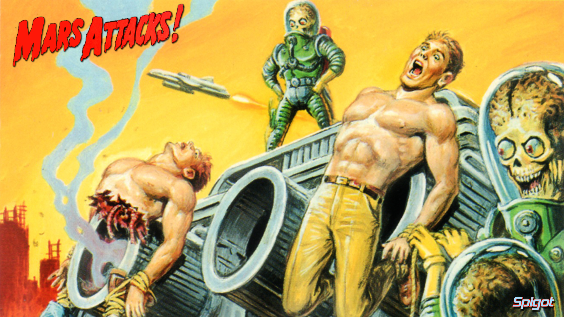 Mars Attacks George Spigots Blog