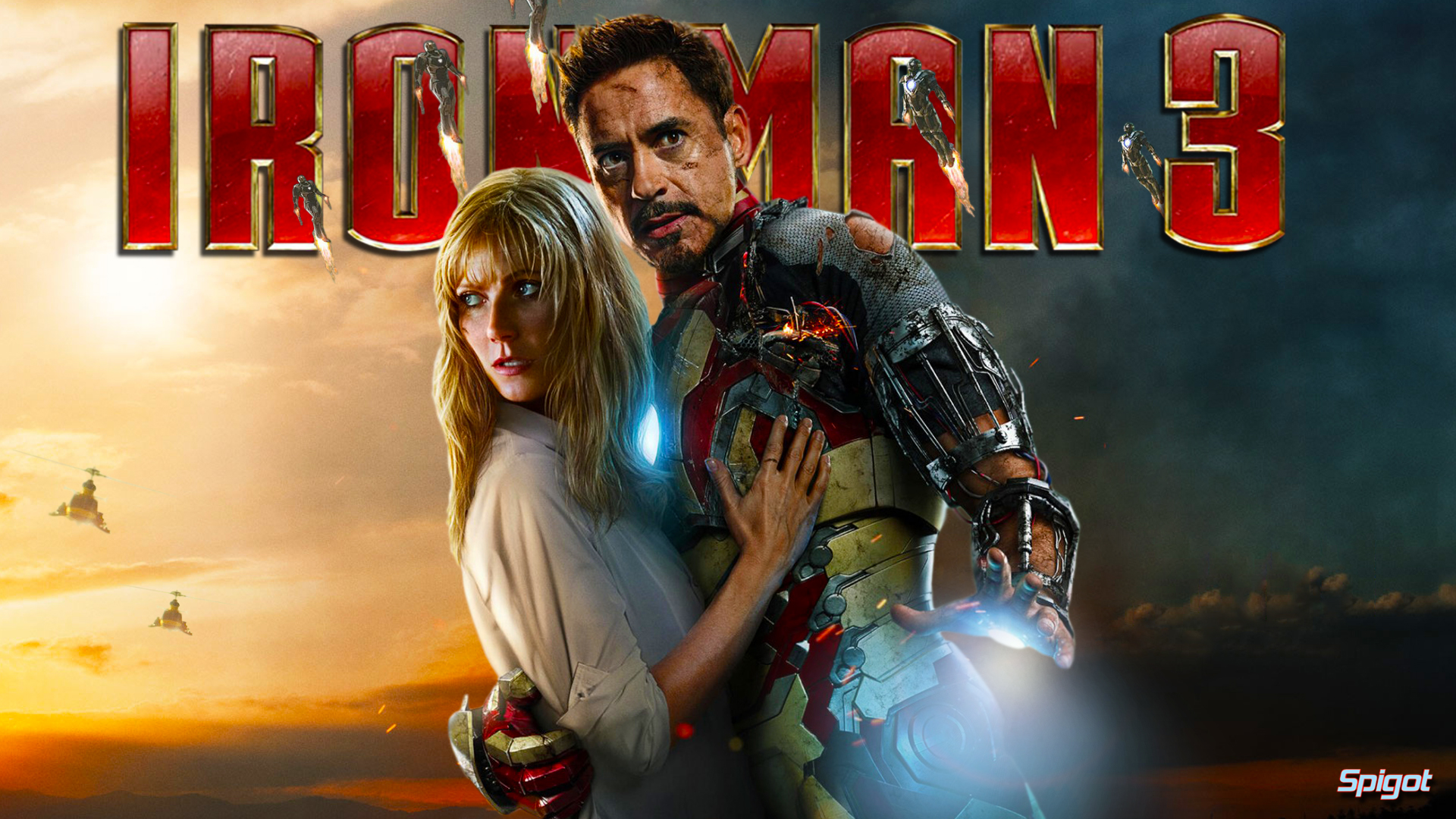 Two More Iron Man 3 Wallpapers