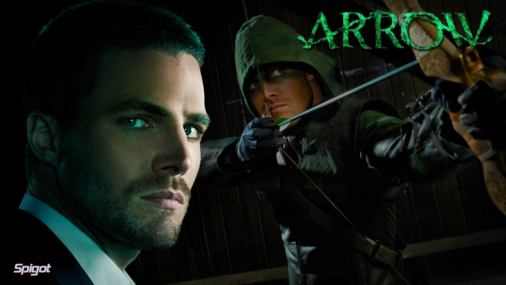 ... more wallpaper's of the awesome CW show Arrow and here they are