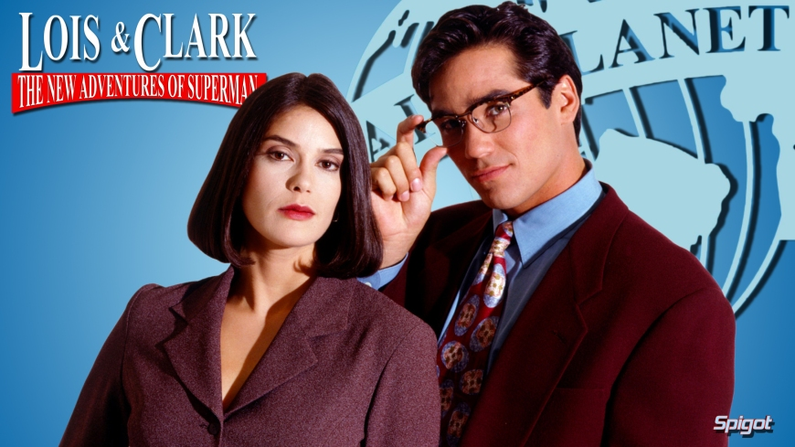 Image result for LOIS & CLARK LOGO