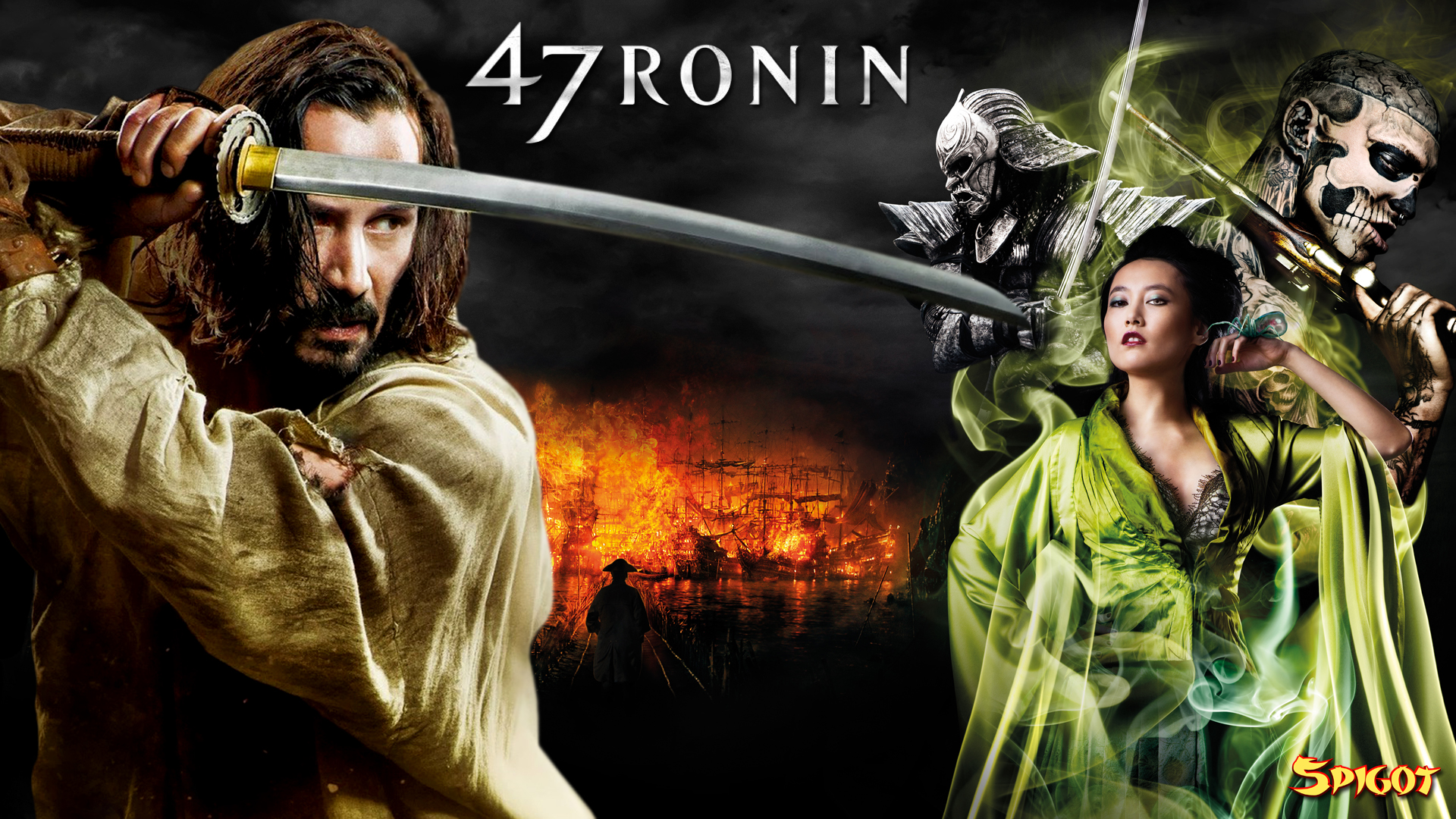 "the 47 ronin response Carl erik rinsch's ""47 ronin"" begins with a bland male narrator declaring that ""the story of the 47 ronin is the story of japan"", instantly and inexplicably calling attention to how."