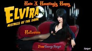 Elvira happy halloween