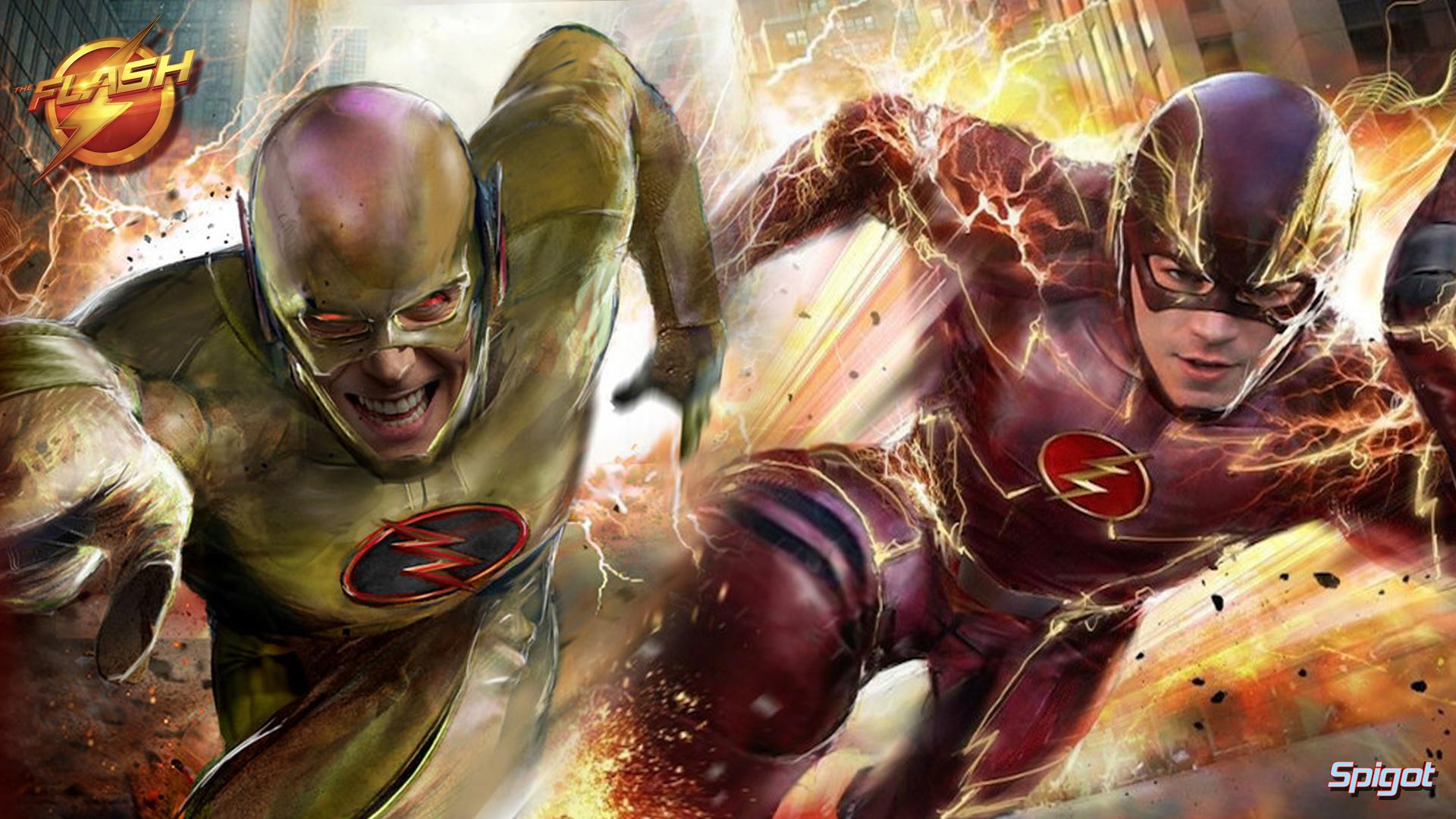 Flash Vs Reverse Flash Wallpaper: George Spigot's Blog