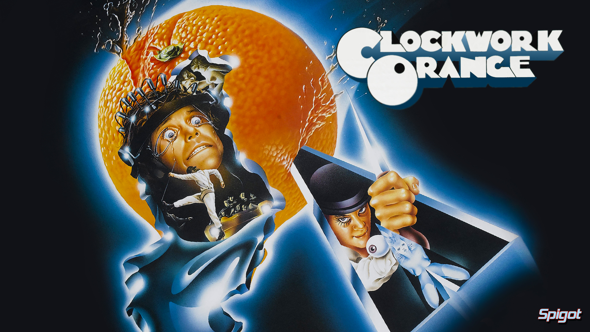 Stanley Kubrick | George Spigot's Blog A Clockwork Orange Wallpaper 1920x1080