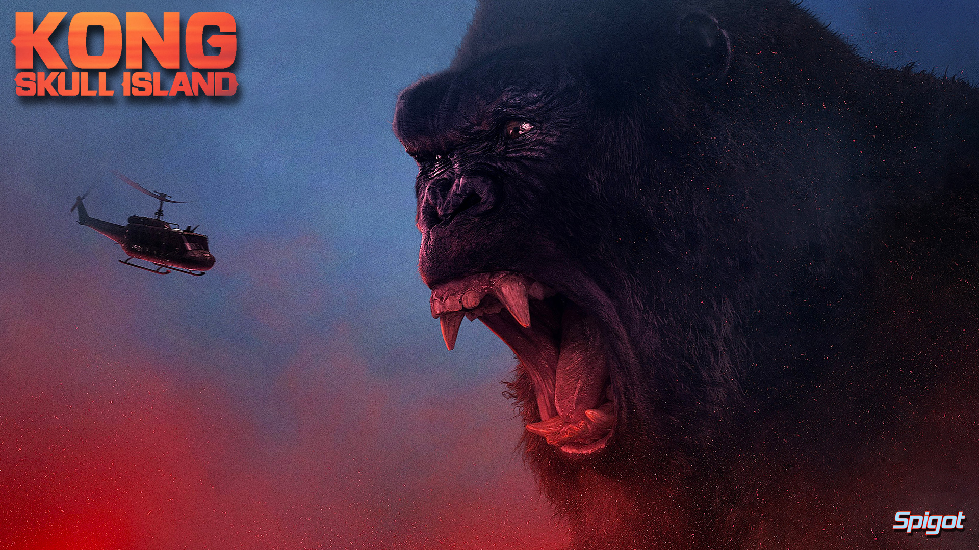 King Kong Skull Island French