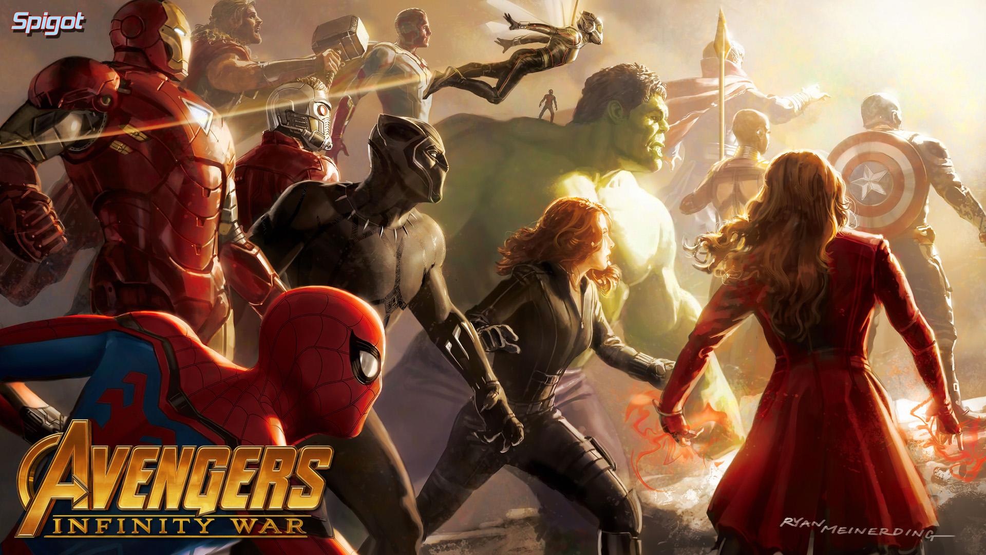 avengers infinity war desktop wallpaper